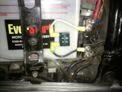 2010 goldwing fuse box 30 amp fuse strip broken • gl1100 information & questions ...