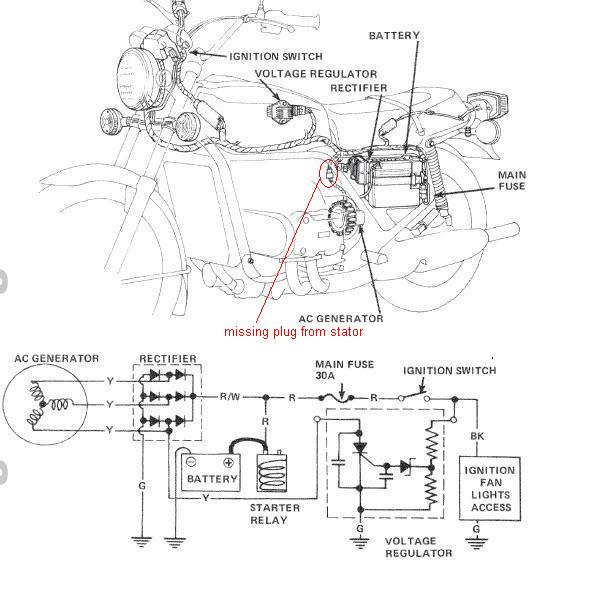 1984 Vt700c Wiring Diagram. 1984. Wiring Diagram