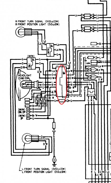 Faring wiring harness help • GL1100 Information