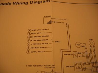 electric map for gl 1100 aspencade gl1100 information. Black Bedroom Furniture Sets. Home Design Ideas