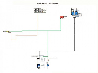 Install a kick stand/kill switch on your 82 goldwing 1100 ... on fuel pump relay diagram, headlight relay diagram, alarm relay diagram, electrical relay diagram, starter relay diagram, coil relay diagram,
