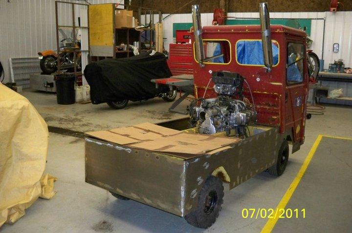 gl1500 motor in a cushman truckster  u2022 tech talk