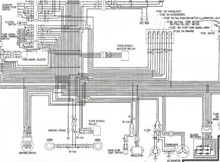 Gl1500 Alternator Wiring Motorcycle Alternator Wiring