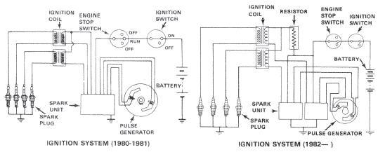 1977 GL1000 Coil Swap with 1982 GL1100 • GL1000