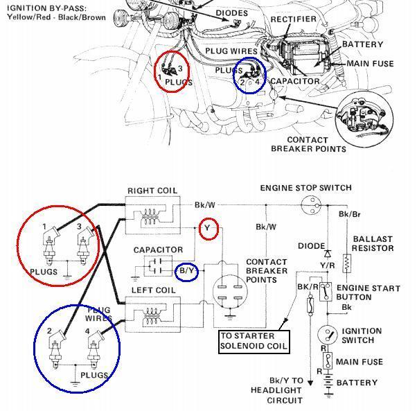72 Honda Xl250 Wiring Diagrams Honda CB350 Wiring Wiring