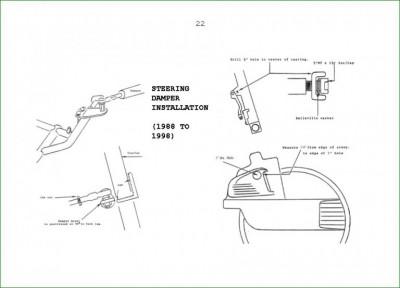 Honda GL1500 Steering Damper • GL1500 Information