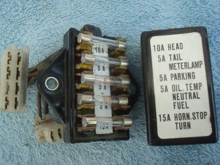 gl1000 fuse block and lid
