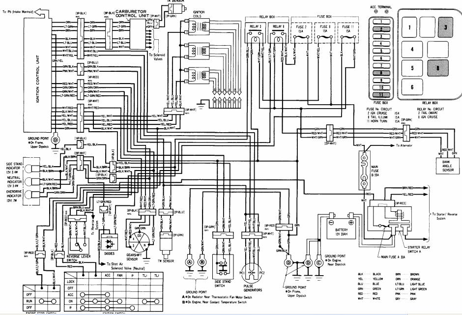 1500 goldwing wiring diagram  1500  free engine image for Ran Red-Light Diagram Ran Red-Light Diagram