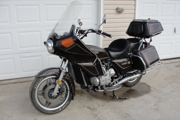 1980 Honda Goldwing Gl1100 Interstate Gl1100 Information