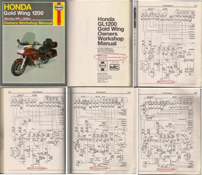 Does it Exist? A Wiring Diagram For '87 Interstate? • GL1200 Information &  Questions • goldwingdocs.comGoldwingDocs.com