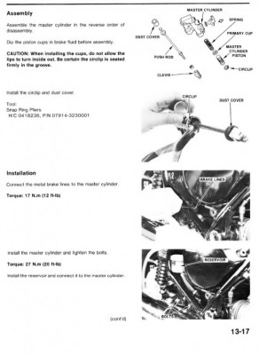 brakes binding • GL1200 Information & Questions