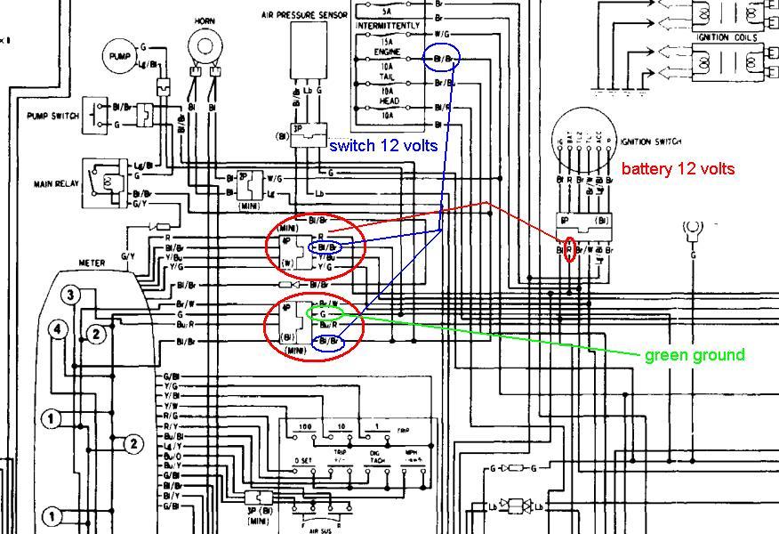 Need Wiring Diagram 4 1983 Gl1100