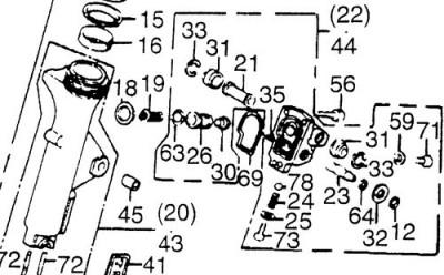 caliper moving when i squeeze brake. • GL1200 Information