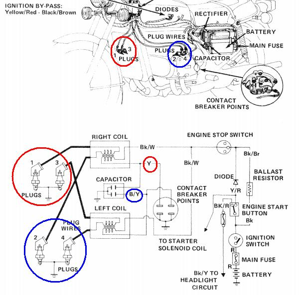 honda goldwing wiring diagram wiring diagram and schematic honda goldwing motorcycle service and owners manuals