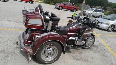 1989 Honda GL1500 Goldwing Trike • For Sale/Wanted
