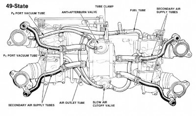 Quadrajet Carb Rebuild Diagram