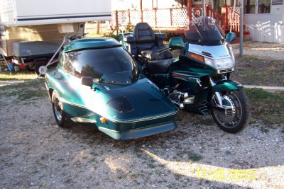 95 GL1500SE with Hannigan Astro 2+2 sidecar $9000 • For Sale