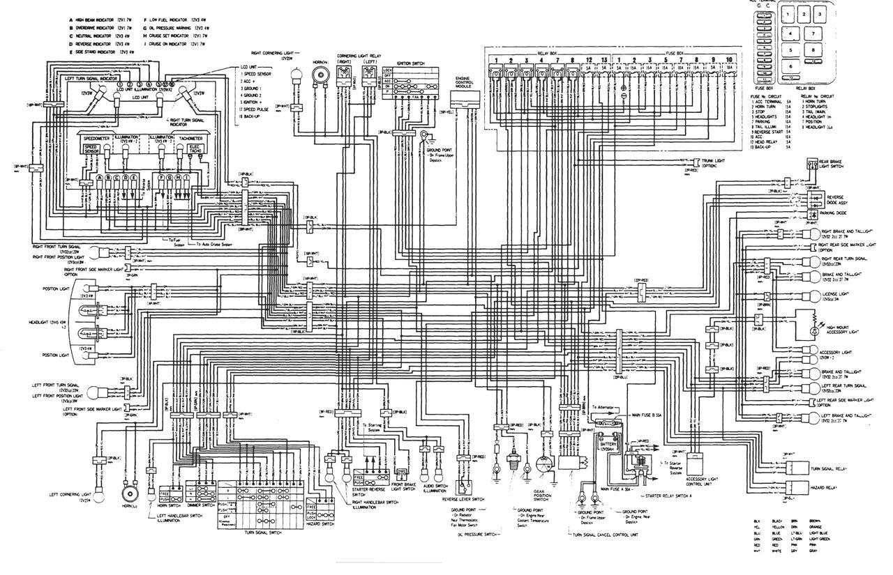 File on Honda Goldwing 1500 Wiring Diagrams