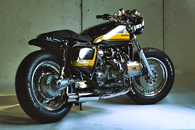 Honda Magna Cafe Racer David Batty The Garage