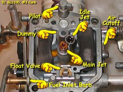 Question about carb rebuild - pilot screw • GL1100 ...
