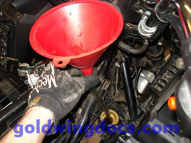 how to flush your cooling system  u2022 gl1100 diy articles