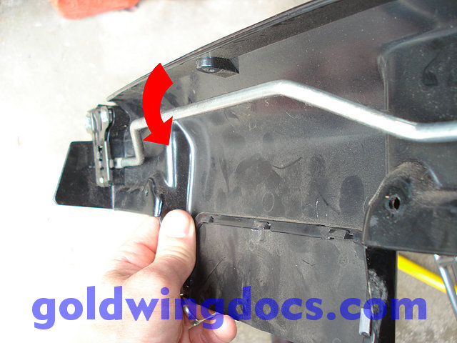How to unlock a GL1500 trunk without keys • GL1500 DIY Articles