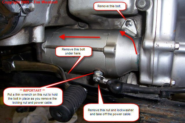 Starter01 how to remove, rebuild and reinstall your starter \u2022 gl1100 diy  at panicattacktreatment.co