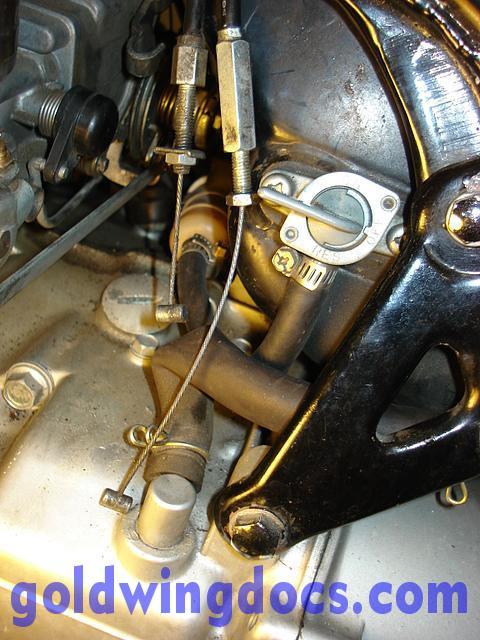 Throttle Cable Too Short Gl1100 Information Questions Goldwingdocs Com