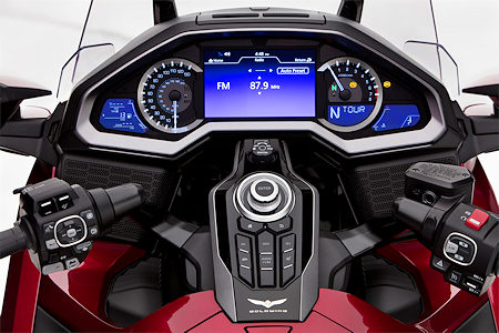 2018 Goldwing Cockpit