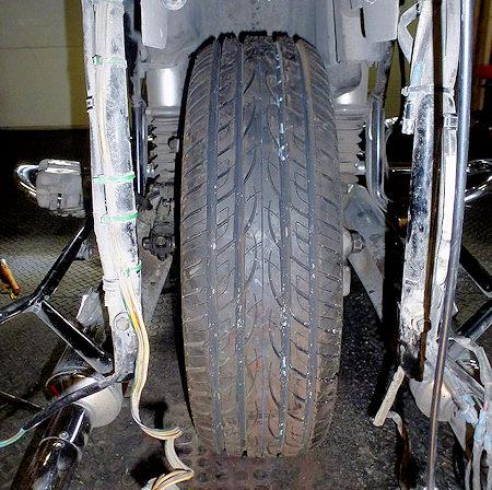 Austone Taxi Tire on GL1500