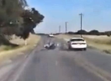Bike Taken Out by Car