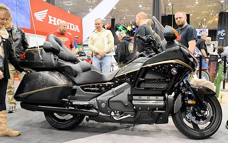 GL1800 at the 2016 Cleveland Motorcycle Show