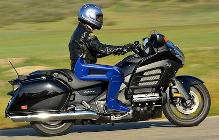 Rider with Aftermarket Parts