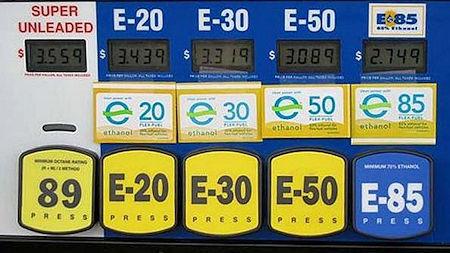 Ethanol Gasoline Pump