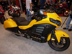 Honda F6B at Cleveland Motorcycle Show