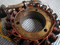 Failed GL1200 Stator