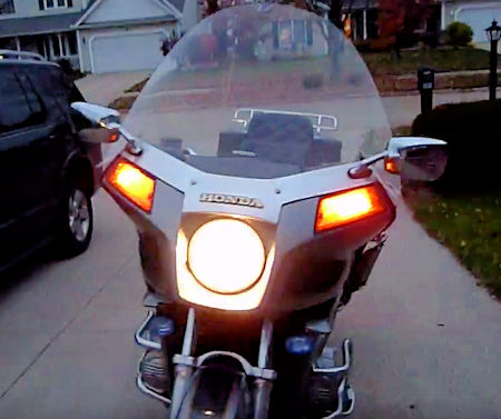 GL1100 Headlight