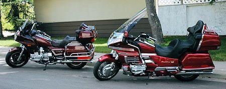 1985 GL1200 and 2000 GL1500