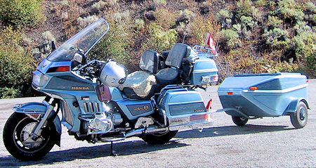 GL1200 with Trailer