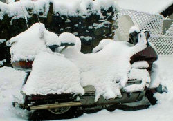 GL1500 buried in snow