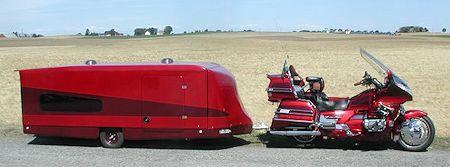 GL1500 With Huge Camper