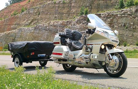 GL1500 and Trailer