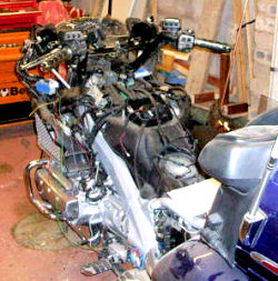 Goldwing GL1800 Disassembled
