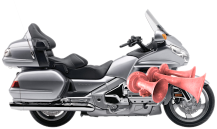 Air Horns on GL1800