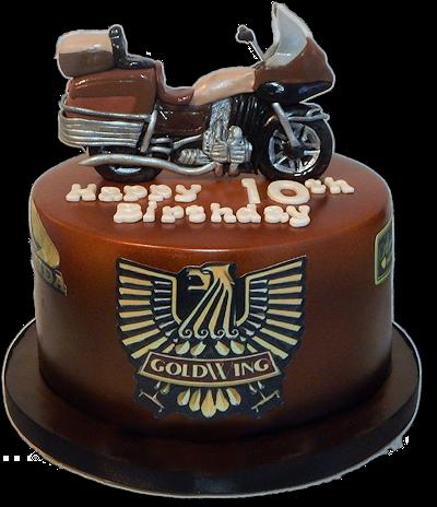 Goldwing Birthday Cake