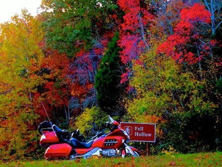 GL1800 with Fall Foliage