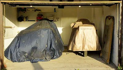 Goldwings In Garage