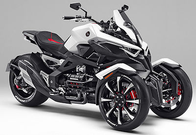 Honda Neowing Leaning Trike
