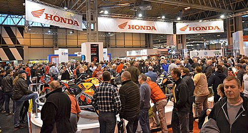 Motorcycle Show Crowds