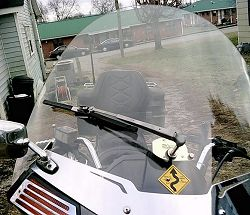 Motorcycle Windshield Wiper